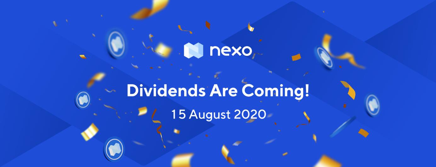 Token, Nexo Temettü (kâr payı) Dağıtımı 15 Ağustos 2020 Olarak Planlandı.