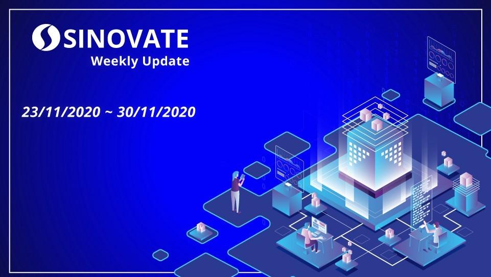 SINOVATE Haftalık Güncelleme 23/11/2020 ~ 30/11/2020