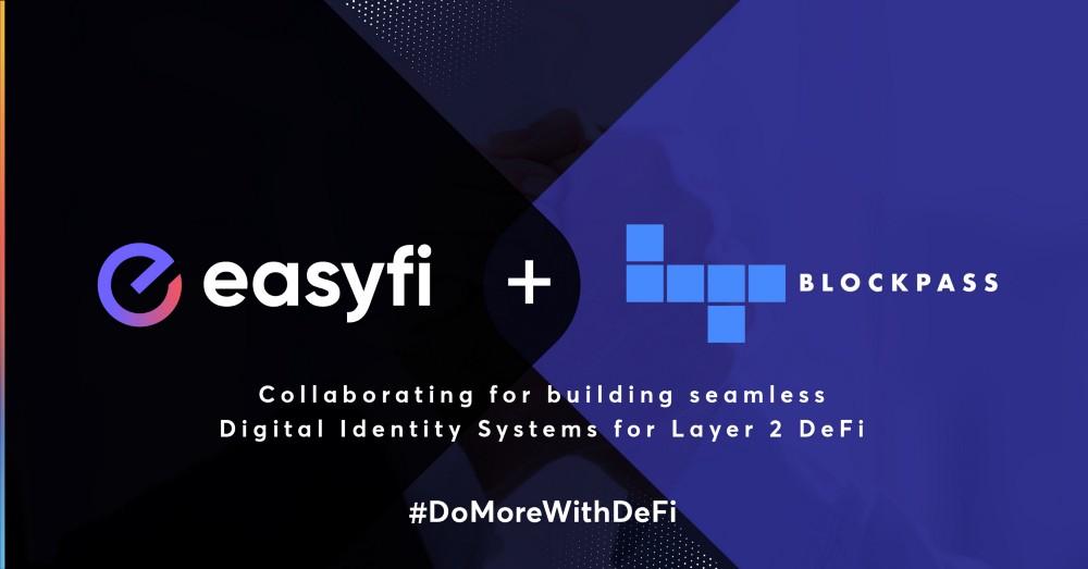 Blockpass, zincirde Dijital Kimlik verileri sağlamak için EasyFi ile ortak oldu
