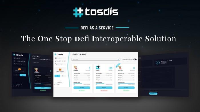 TosDis Easystake, TosDis Easystake ve Likidite madenciliği programı ayrıntılarını duyuruyor