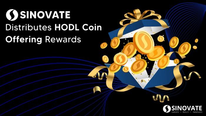SINOVATE, ilk HODL Coin Offering (HCO) Ödüllerini Sahiplerine Ulaştırdı