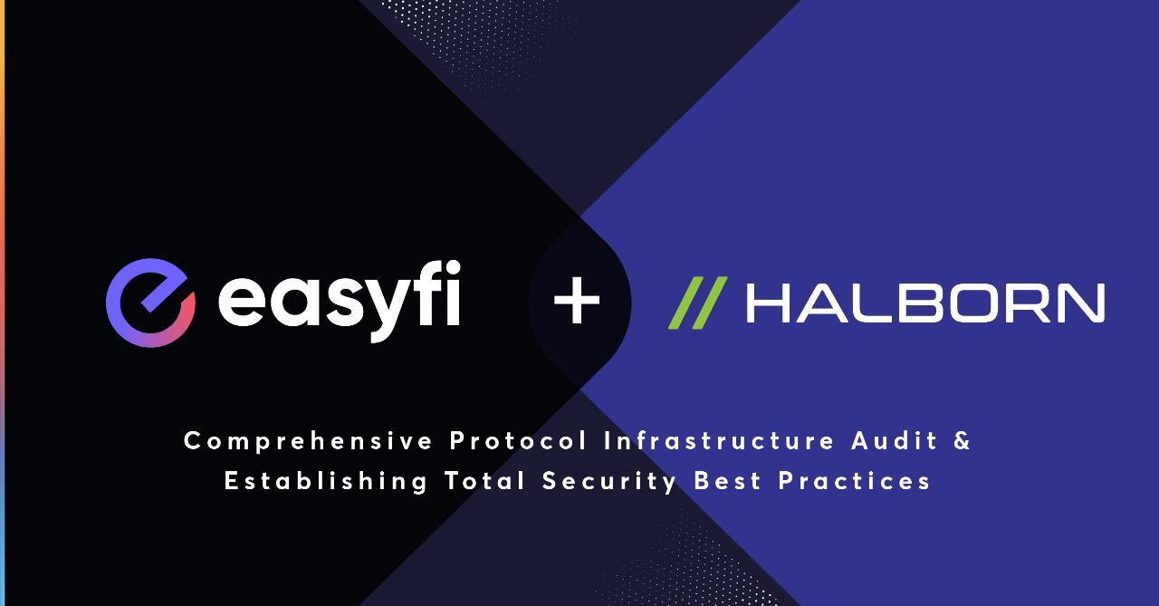 EasyFi Network, Siber Güvenlik Firması Halborn ile Ortaklık Yapıyor