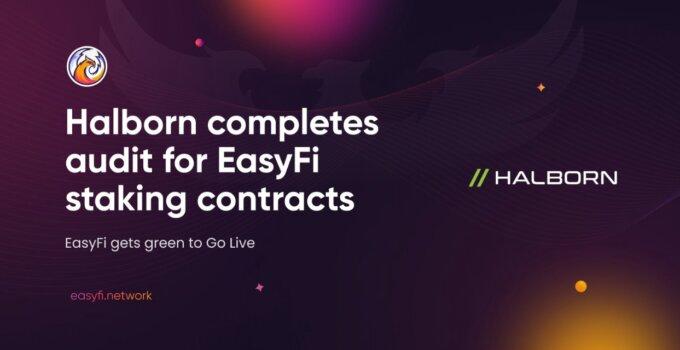 Halborn, EasyFi Staking Sözleşmelerinin Denetimini Tamamladı