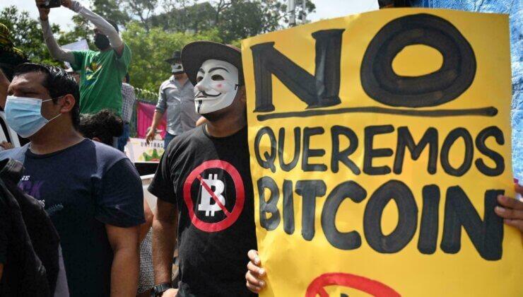 El Salvador'da Bitcoin Protestoları!