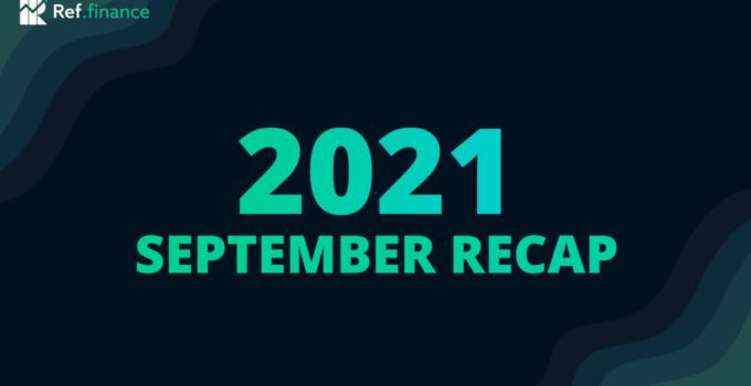 Ref Finance Eylül Ayı İncelemesi